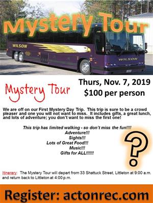 Mystery Tour Flyer